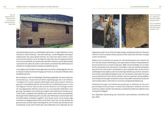 Sanierung historische Lehmbausubstanz – Massivlehmtechniken