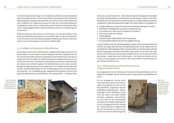 Sanierung historische Lehmbausubstanz – Schäden und Sanierung im Massivlehmbau